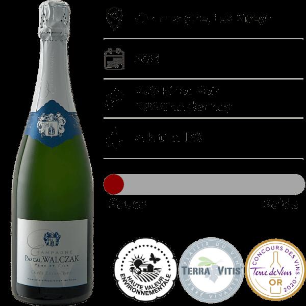 Champagne Pascal Walczak, Extra Brut