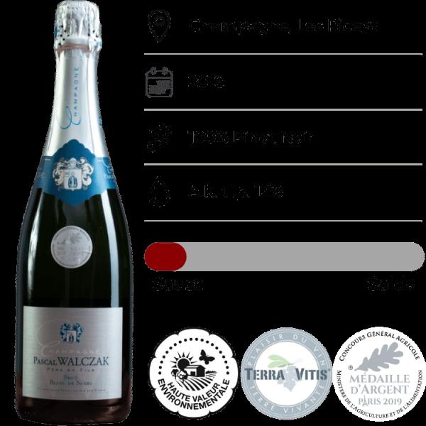 Champagne Pascal Walczak, Blanc de Noir