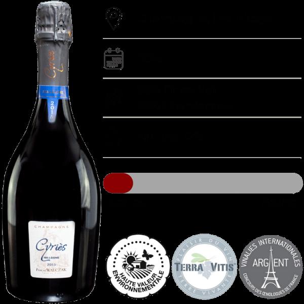 Champagne Pascal Walczak, Millesime 2016