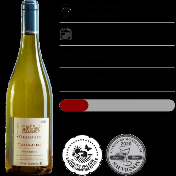 Domaine Desloges, Sauvignon Blanc