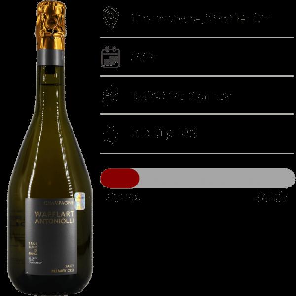 Champagne Wafflart Antoniolli, Blanc de Blancs